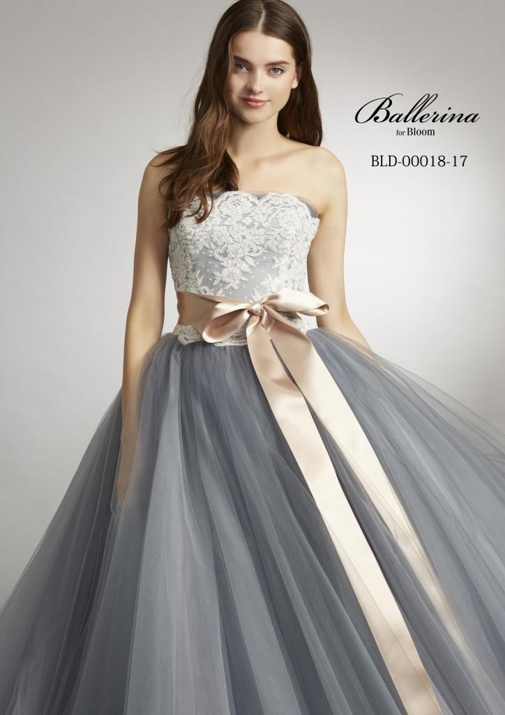 9c005e0fb7987 こちらのドレスはオシャレカラーのBIGチュチュスタイル。ホワイトレースを合わせて、上品な大人のカラードレスに仕上げています。バックリボンがポイント のシンプル ...